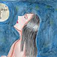 月を見て何を想う?